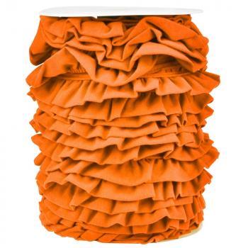 Jersey Volantband orange
