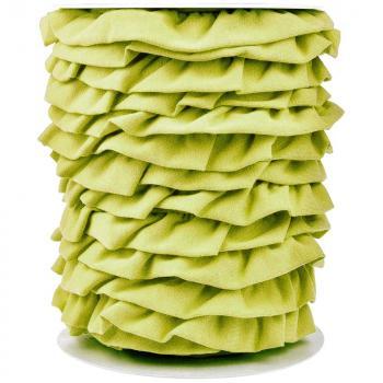 Jersey Volantband lemon